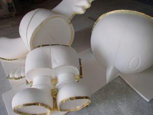 石膏型取り